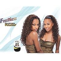 MARION GIRL - Shake N Go Freetress Drawstring Fullcap Wig #1B by Freetress