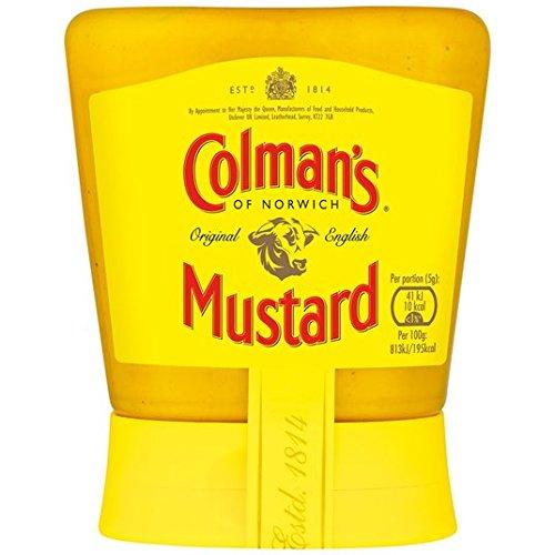 Colmans Ursprüngliche Englisch Squeezy Mustard 150g -