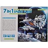 Rvold 7 in 1 Space Fleet Solar Educational DIY Toy for Kids