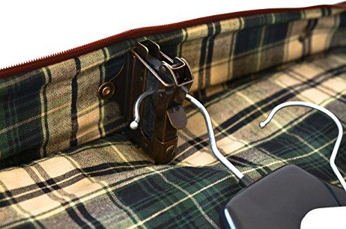 """Gusti Leder studio """"Richie"""" Bolso de Viaje de Cuero Bolso de Deportes Funda de viaje para Trajes Ropa Made in Italy Vintage Retro Piel Auténtica 2R8-20-14"""