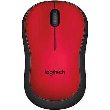 Logitech M220 Silent - Ratón inalámbrico silencioso para Uso ambidiestro (90% de reducción de Ruido, Seguimiento óptico, USB, Compatible con Windows, Mac, ...