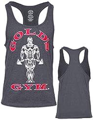 Golds Gym Réservoir Limon Top,Muscle Joe,Bodybuilder,T-shirt,Axelshirt