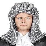 Die besten George Party Kleider - RANRANHOME Anwalt Wig Richter Lange Lockly Graue Männer Bewertungen