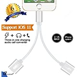 ascension 2-in-1 Audio and Charging Splitter for iOS 10.3 and Later