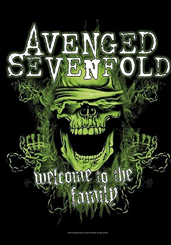 Avenged Sevenfold - Bandiera Poster, Welcome To The Family
