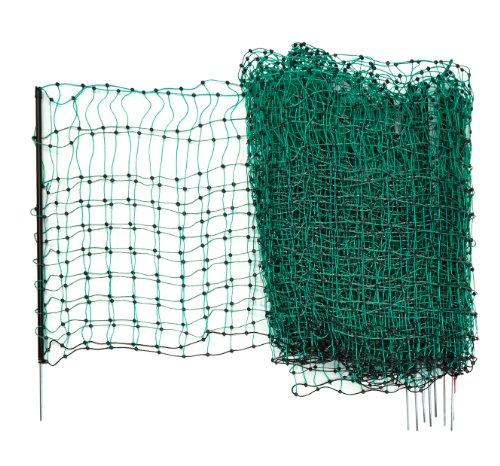 *Kerbl 292216 Kaninchennetz 25 m, 65 cm Einzelspitz, grün*