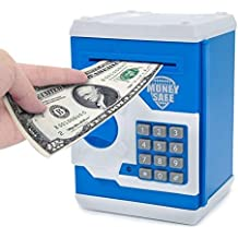 Toykart Cash Bank with Smart Electronic Lock (Colour and Character May Vary)