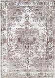 Nain Trading Vintage Royal 290x202 Orientteppich Teppich Grau/Beige Handgeknüpft Pakistan Design Teppich Modern