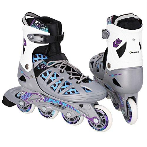 WeSkate Adult Inline Skates Mittel/groß Größe Männer/Frauen Ausbildung Roller Skates Outdoor-Speed Schnalle Rollerblades Inline Roller Skates