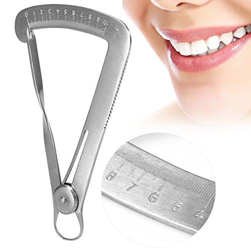 Edelstahl-zahnmedizinische Kronen-Messgerät-Tasterzirkel-chirurgische Instrument-messendes Werkzeug für Metall / Wachs(Für Metall)