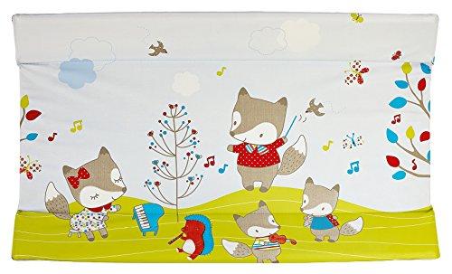 Brevi 006 Tablet 556 Fox Materassino Fasciatoio, Verde/Grigio