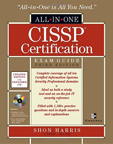 CISSP All-in-One Exam Guide, Third Edition por Shon Harris