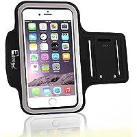 RevereSport iPhone 7/8 Sportarmband Mit Fingerprind-Identifizierung. Armband Telefon Handyhalter Case für Laufen, Workout, Joggen und Fitness