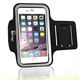 Premium iPhone 7 Plus / 8 Plus Armband with Fingerprint ID Access. Sports Arm band Phone Case Holder for Running, Gym Training & Outdoor Exercise