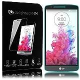 NALIA Schutzglas für LG G3, Full-Cover Displayschutz Handy-Folie, 9H gehärtete Glas-Schutzfolie Bildschirm-Abdeckung, Schutz-Film Smart-Phone HD Screen Protector Tempered Glass - Transparent
