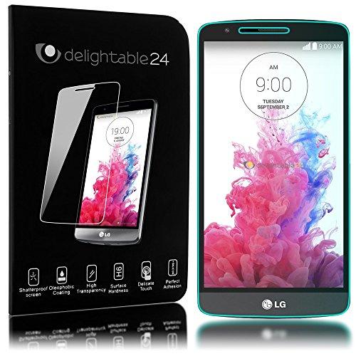 NALIA Schutzglas kompatibel mit LG G3, Full-Cover Displayschutz Handy-Folie, 9H Härte Glas-Schutzfolie Bildschirm-Abdeckung, Schutz-Film Smart-Phone HD Screen Protector Tempered Glass - Transparent