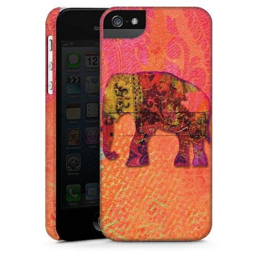 Apple iPhone 4 Housse Étui Silicone Coque Protection Éléphant Goa Indien CasStandup blanc
