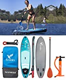 "10'2"" Inflatable SUP Stand Up Paddle Board with Motion Camera Base"