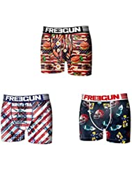 Lot 3 Boxers Freegun Homme FG20