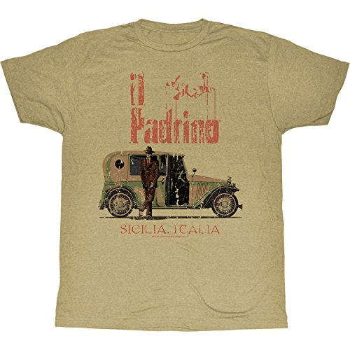 The Godfather - Herren Il Padrino T-Shirt, XX-Large, As Shown