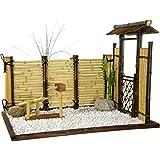 Arredamento orientale in bambù Mini giardino Zen