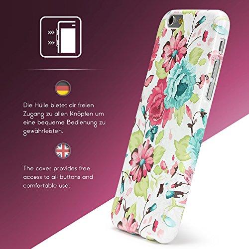 iPhone 6 Plus / 6s Plus Coque, Urcover TPU Silicone Housse Apple iPhone 6 Plus / 6s Plus Protection Étui Fleurs Motif Design 5 Téléphone Femme Smartphone Case Design 22