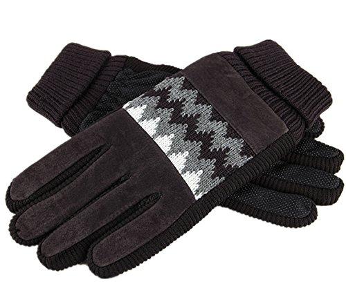 WLITTLE HerreN Winter Fahrradhandschuhe Warm Handschuhe Winddicht Wasserdicht für Winter Radfahren und Outdoor Sports