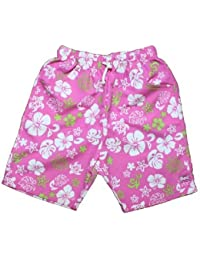 BabyBanz UV Shorts Flower Pink Green +UPF50 4 Jahre (108 cm)