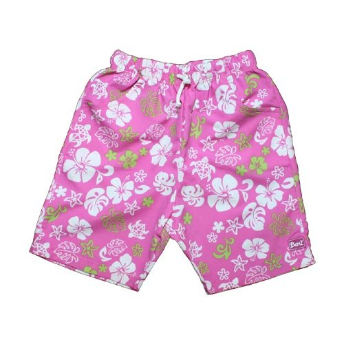 Baby Banz UV Short Flower Rose Green + UPF50 4 ans (108 cm)