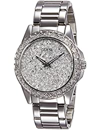 Guess Analog Silver Dial Women's Watch - W0651L1