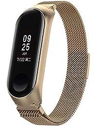 Banda de Reloj, Pulsera magnética milanesa de Acero Inoxidable Correa de Reloj para Xiao Mi
