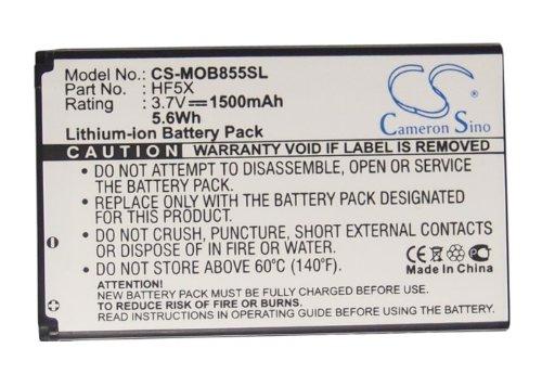 CS-MOB855SL Akku 1500mAh Kompatibel mit [Motorola] Defy Mini, MB835, MB855, Photon 4G, XT320, [Sprint] Photon Ersetzt HF5X, SNN5890A (Sprint Photon Motorola)
