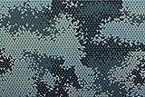 Qualitativ hochwertiger Jersey Stoff mit kleinen Dreiecken