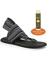 Sanuk Yoga Sling 2 Sandalias con Libre riñonera de Sol Coco Bálsamo ... e36f82ec8687