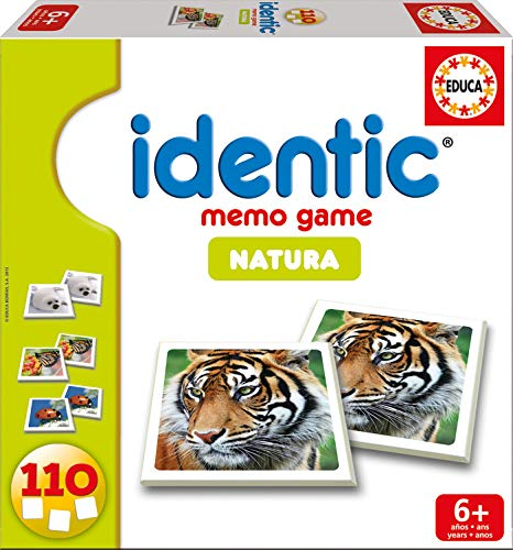 Educa Borrás 14783 - Identic Natura 110 Cartas