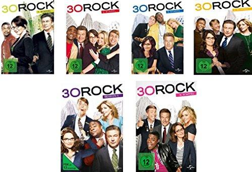 Preisvergleich Produktbild 30 Rock - Die kompletten Staffeln 1-6 im Set - Deutsche Originalware [17 DVDs]
