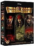Pirates des Caraïbes - La trilogie : La malédiction du Black Pearl + Le secret du coffre maudit + Jusqu'au bout du monde - coffret 3 DVD