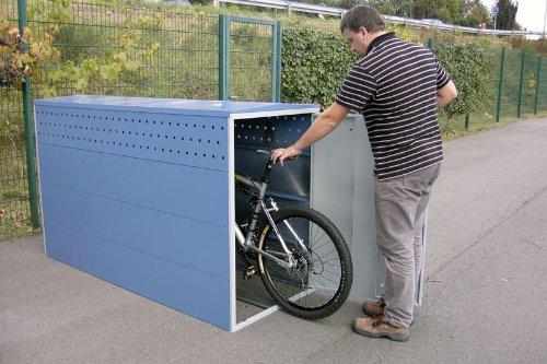 Fahrradgarage BIKEBOX 1 G ADFC empfohlene Qualität - 2