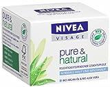 Nivea Visage Pure & Natural Feuchtigkeitsspendende Gesichtspflege, 50 ml