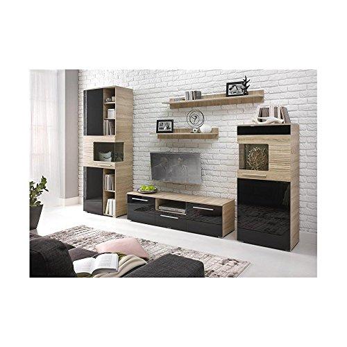 justhome-in-line-lux-ensemble-de-meubles-de-salon-couleur-sonoma-chne-noir-laque-haute-brillance