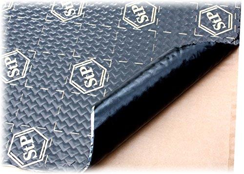 STP Black Gold 750x500x2,3 mm Insonorizzante Smorzante Anti Vibrazioni Portiera Auto