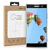 kalibri Sony Xperia XA2 Folie - 3D Glas Handy Schutzfolie für Sony Xperia XA2 - Auch für gewölbtes Bildschirm