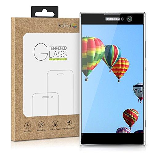 kalibri-Echtglas-Displayschutz-fr-Sony-Xperia-XA2-3D-Schutzglas-Full-Cover-Screen-Protector-mit-Rahmen-Glas-Folie-auch-fr-gewlbtes-Display-in-Schwarz