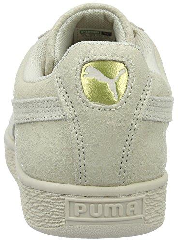 Puma Damen Suede Remaster Sneakers Elfenbein (Birch-Birch 02)