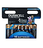 Duracell Ultra Power Typ AA Alkaline Batterien, 16er Pack
