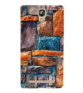 EPICCASE Brick Art Design Mobile Back Case Cover For Gionee Marathon M5 Plus (Designer Case)