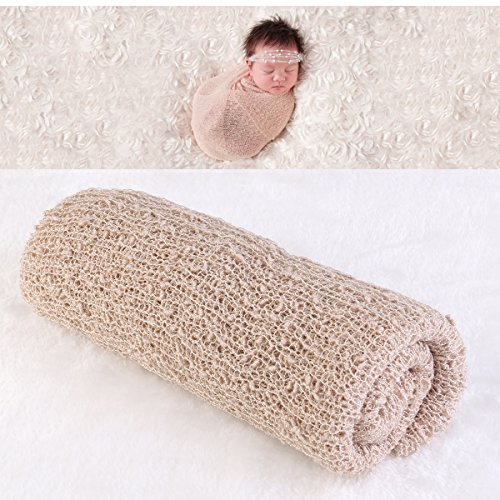 fenical-baby-wrap-photo-prop-neugeborenes-baby-fotografie-foto-requisiten-wrap-beige-stretch-neugebo