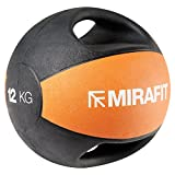 MiraFit - Palla Medica con Impugnatura Doppia - Varie Misure