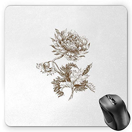 Fir Multi Color Christmas Tree (New Year Mouse Pad, Traditional Colorful Christmas Baubles Ornamental Frame Pattern Digital Fir Tree Gaming Mousepad Office Mouse Mat Multicolor)
