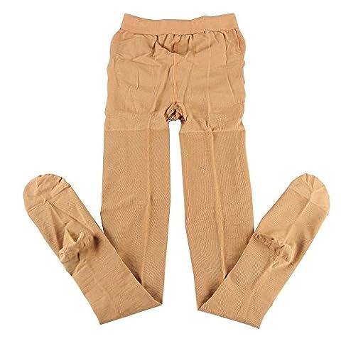 KoolFree Women Microfiber Medical Grade Graduated Compression Stockings Pantyhose, Closed